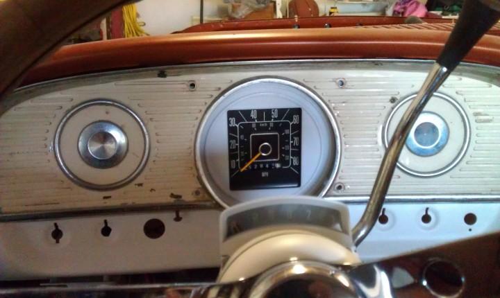 79 F150 speedometer in a test FDM housing