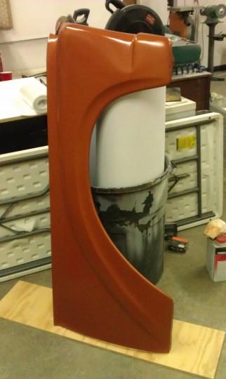 repainted fender