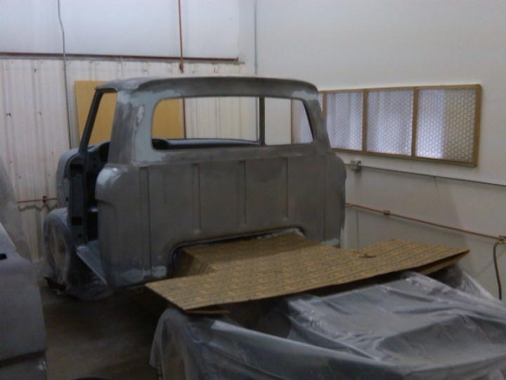 Nov 2010 Cab getting ready for primer