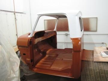 Two tone 66 F100 Cab