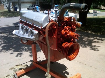 Engine is Painted