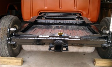 Custom made tow hitch
